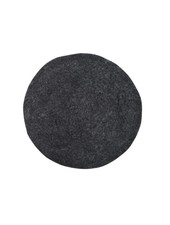 HK Living Felt seat cushion - black - HK Living