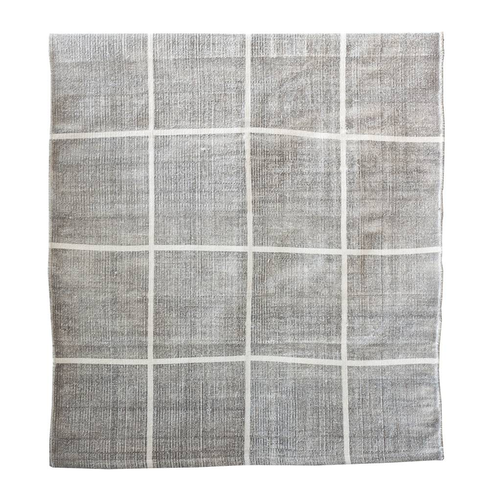Tell me more Rug in Stonewashed cotton - light grey - 170x240cm - Tell me more