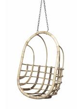 "Broste Copenhagen Silla colgante ""huevo"" en rota natural - Broste Copenhague"
