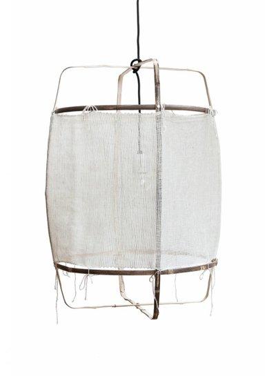 Ay Illuminate Lámpara de suspensión bambú/seda/cachemire - 48.5cm Ø - Z11 blanco - Ay iIluminate