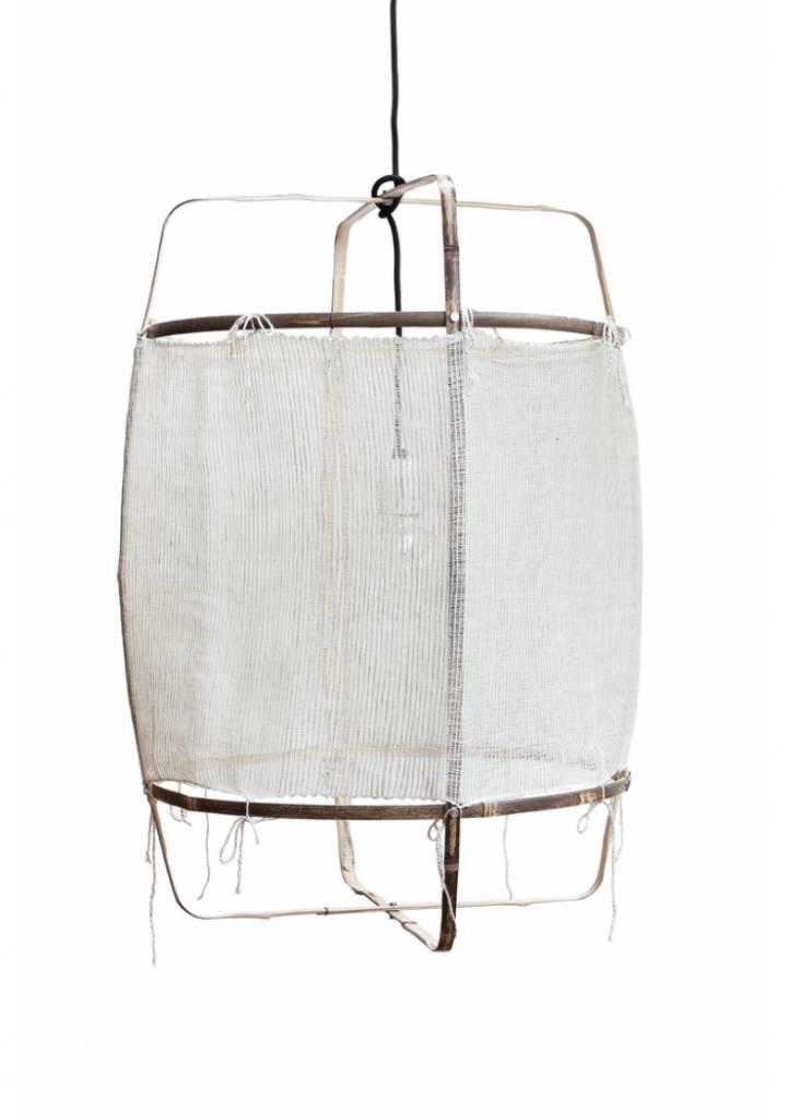 Ay Illuminate Lámpara de suspensión bambú - cachemire - 48.5cm Ø - Z11 blanco - Ay iIluminate