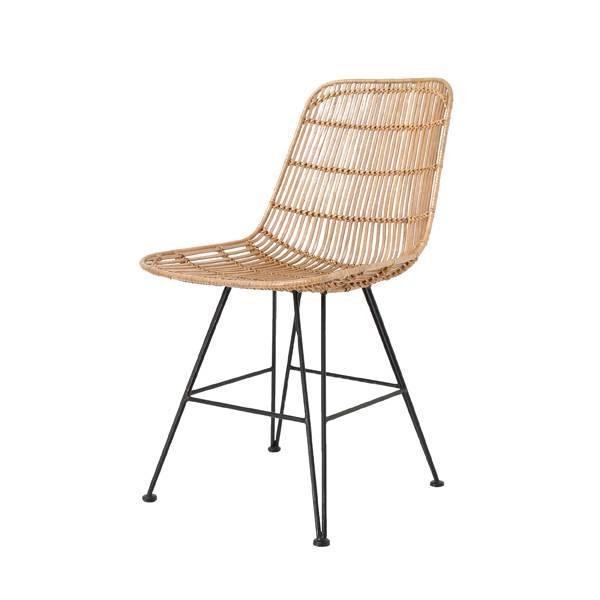 Hk Living Rattan Dining Chair Natural Hk Living Petite