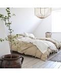 Tell me more Funda Nordica 100% de lino lavado - 220x240 - Arena - Tell me more