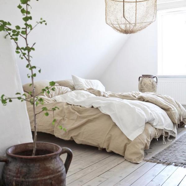 tell me more housse de couette 100 lin lav 240x220cm. Black Bedroom Furniture Sets. Home Design Ideas