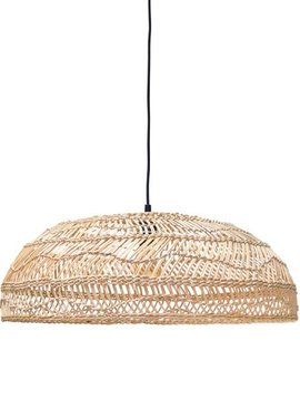 HK Living Lampe Suspension en osier - Ø60cm - HK Living