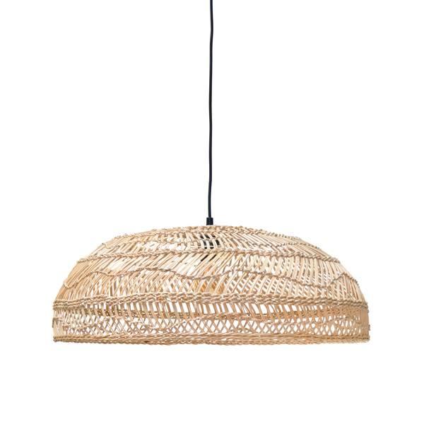 lampe suspension en osier 60cm hk living petite. Black Bedroom Furniture Sets. Home Design Ideas