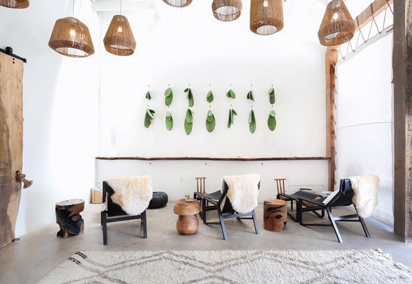 Pure And Ethnic Ambience In This Boho Chic Spa In Los