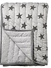 Bloomingville Grey plaid with stars pattern - Bloomingville
