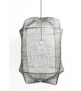 Ay Illuminate Lampe Suspension Z2 ONA Bambou et Sisal Tea - Gris - Ø77cm - Ay illuminate