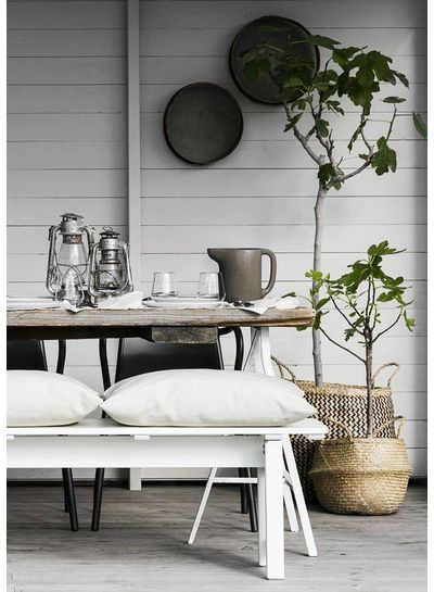 inspiración escandinava para su mesa de verano - visto en Bloglovin Aftonbladet Sweden