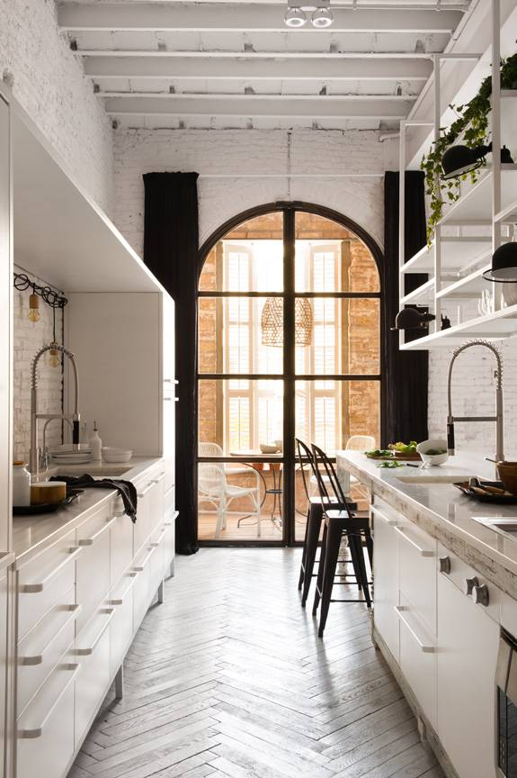 Rehabilitation of a Barcelonese apartment in a Scandinavian Bohemian styling - from Marta Castellano