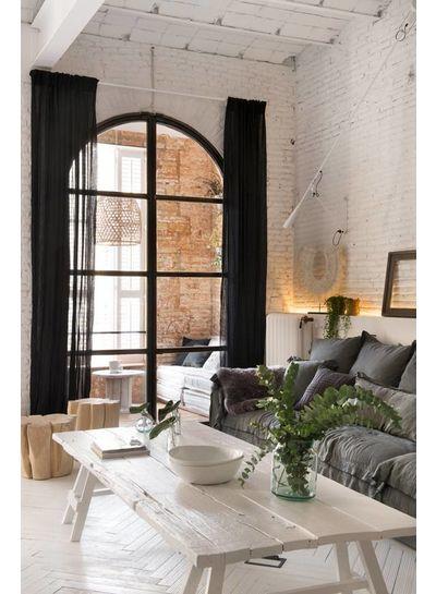 Rehabilitación escandinavo de un apartamento en Barcelona - Marta Castellano