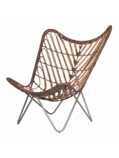 Uniqwa Furniture Butterfly chair in Rattan - Natural - Uniqwa Furniture