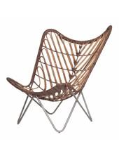 Uniqwa Furniture Silla Mariposa de Ratán - Natural - Uniqwa Furniture