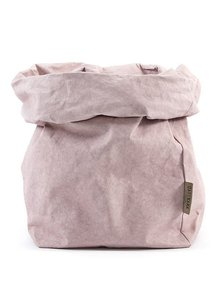 Uashmama Washable Paper Bag in Pink / Quarzo Rosa - Uashmama