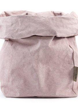 Uashmama Bolsa de papel lavable - Quarzo Rosa - Uashmama