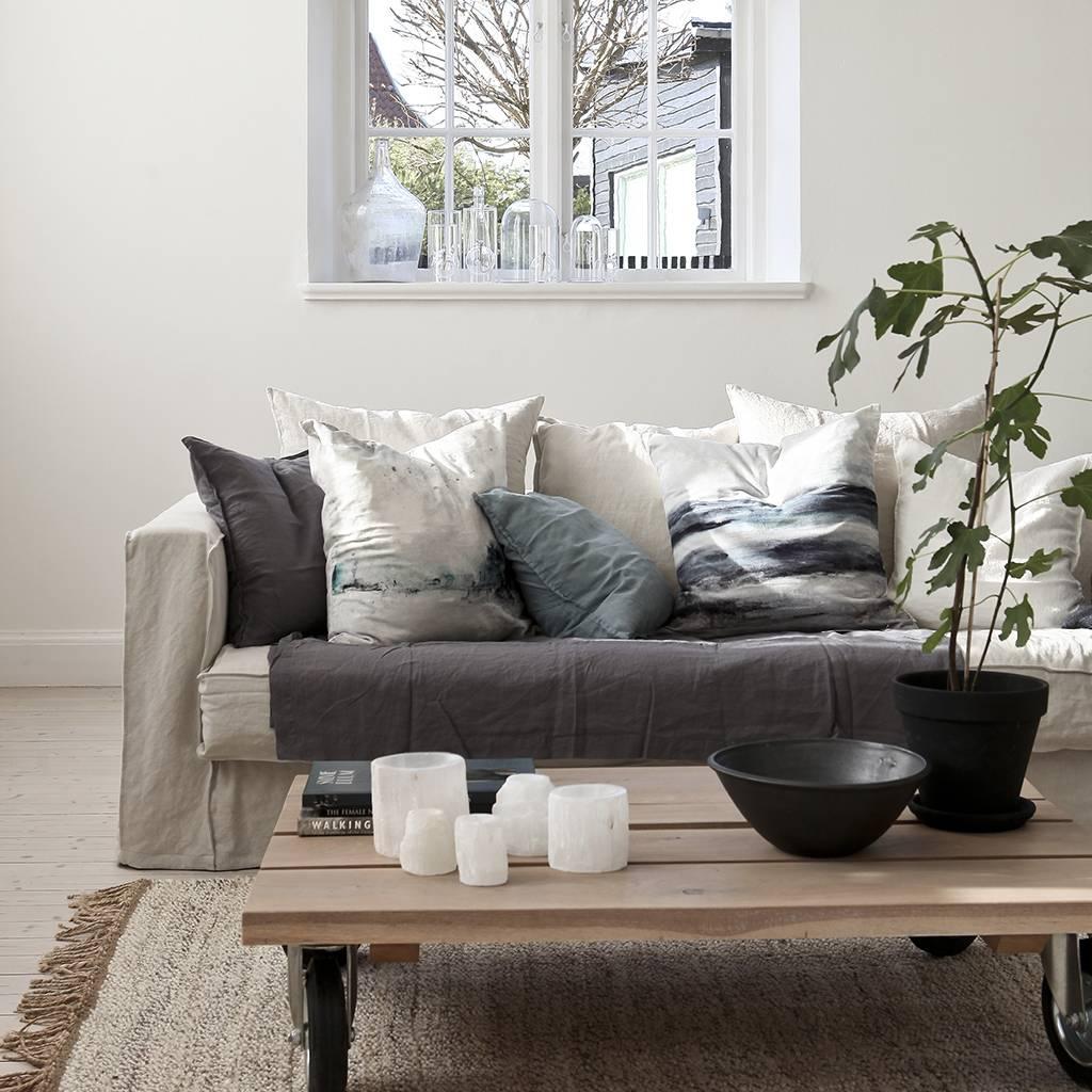 Tell me more alfombra natural en c amo blanco 170x240 - Alfombras de canamo ...