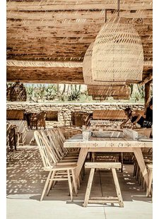 Splendid Bohemian Chic atmosphere - Scorpios restaurant & bar in Mykonos