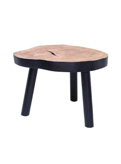 HK Living Table Basse Arbre - 65cm - bois noir - HK Living