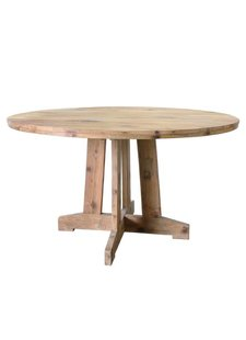 HK Living recycled teak table - Ø140cm - HK Living