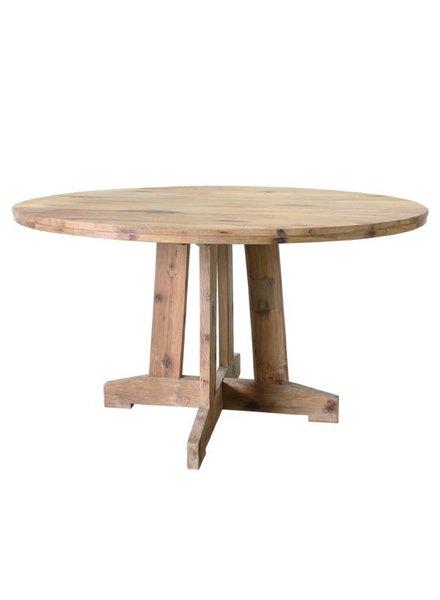 HK Living Table en teck recyclé - Ø140cm - HK Living