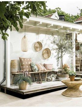 Decoración del jardín en el sabor del verano visto VT Wonen