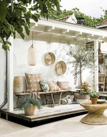 Décoration de jardin au goût d'été vu VT Wonen
