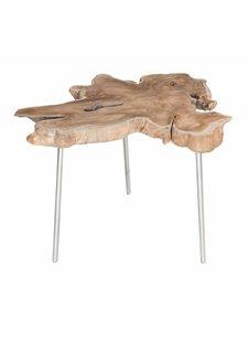 Uniqwa Furniture Table d'appoint 'Moyo' - Naturel - Uniqwa Furniture