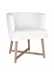 """Uniqwa Furniture Chaise """"Guatemala"""" - blanche - Uniqwa Furniture"""
