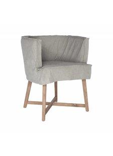 "Uniqwa Furniture Chaise ""Guatemala"" - grise - Uniqwa Furniture"