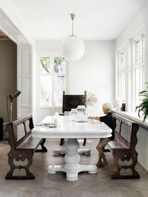 Dolce Vita Scandinave - The Swedish home of stylist and former mannequin Malin Persson featured in Milk Magazine