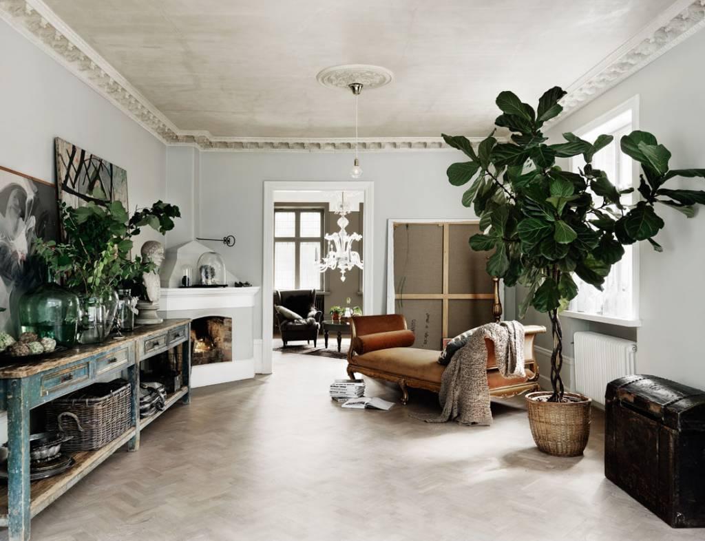 Dolce Vita Scandinave - Une visite dans la maison du mannequin et styliste suédois Malin Persson dans Milk Magazine