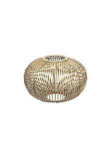Broste Copenhagen Lámpara de Bambú 'ZEP' - Natural - Ø48cm - Broste Copenhagen
