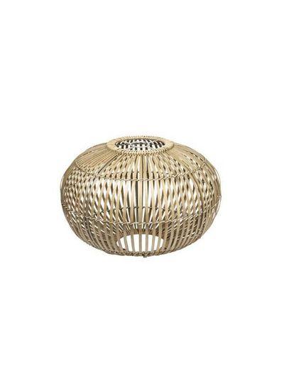 Broste Copenhagen Lampe Suspension Bambou 'ZEP' - naturel - Ø48cm - Broste Copenhagen