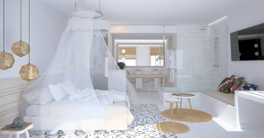 Gatzara Suites in Ibiza: a white heaven of joy and abundance desiged by Estudio Vila 13 - Seen on Petitepassport.com