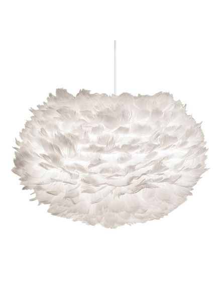 Vita Copenhagen EOS pendant light white feathers - Ø45cm - Vita Copenhagen