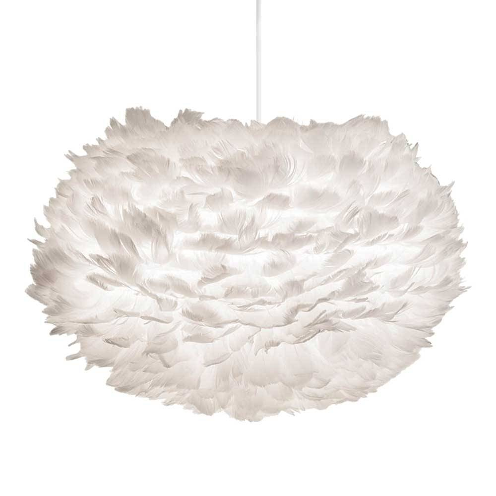 Eos Pendant Light White Feathers 216 45cm Vita Copenhagen