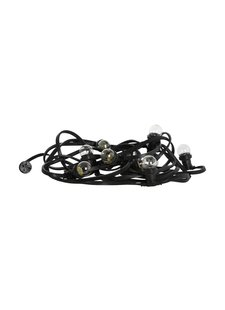 House Doctor light chain - indoor and outdoor - 8.4m - black - House Doctor