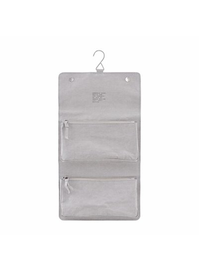 House Doctor Toilet Bag 'Nomadic' - Grey - House Doctor