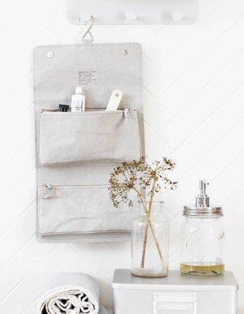 House Doctor Toilet Bag 'Nomadic' - Grey - House Doctor