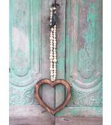 MaduMadu Love Mala Natural - heart 32x30cm - MaduMadu