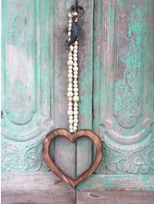 MaduMadu Love Mala Natural - heart 32x30cm - MaduMadu