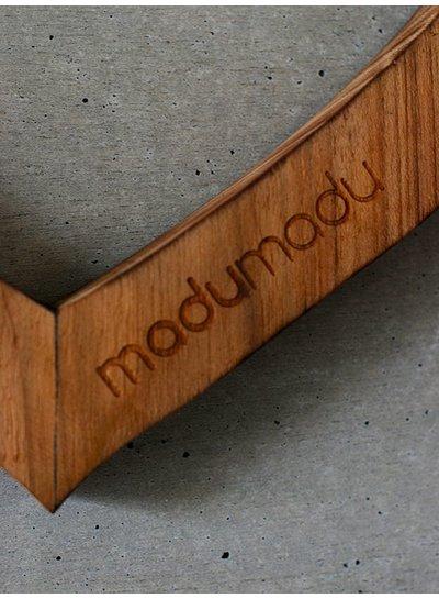 MaduMadu Love Mala - Naturel / Blanc - cœur 32x30cm - MaduMadu
