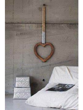 MaduMadu Love Mala White - heart 32x30cm - MaduMadu