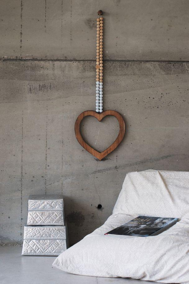 MaduMadu Love Mala Blanco - Corazón 32x30cm - MaduMadu