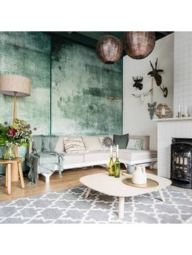 Scandinavian and Vintage elements with a touch of Ethnic in a 'eclectic' style apartment - vu sur weerverlieftopjehuisje.nl