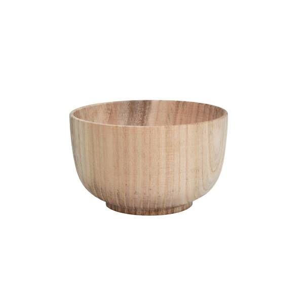HK Living Cuenco de Madera Natural - ∅12,5 cm - HK Living