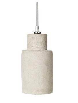 Broste Copenhagen Lámpara Suspensión de hormigón 'Navaro' - gris claro - Ø10xh22cm - Broste Copenhagen