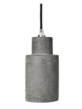Broste Copenhagen Suspension 'Gerd' béton - gris foncé - Ø10xh22cm - Broste Copenhagen