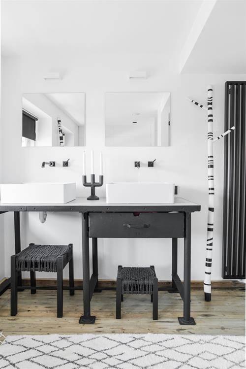 HK Living Tapis de bain 'Ethnique' 90x175cm - HK Living